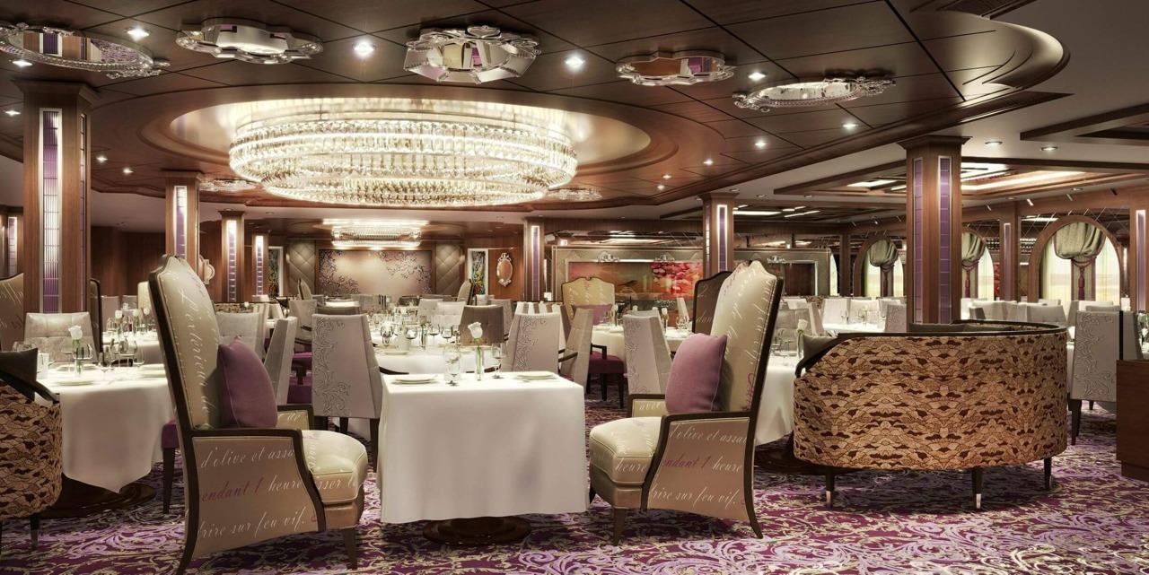 Круизный лайнер Quantum of the Seas - Ресторан The Grande