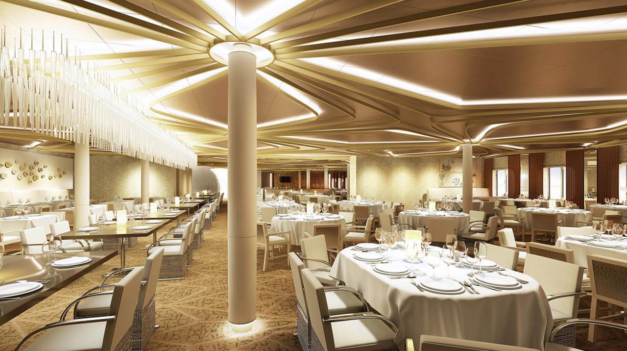 Круизный лайнер Quantum of the Seas - Французский ресторан Chic