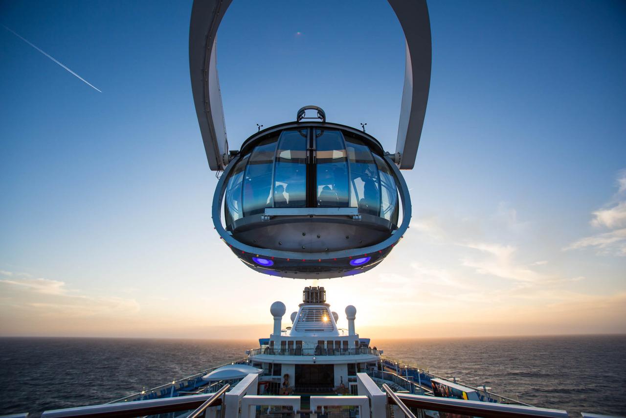 Круизный лайнер Quantum of the Seas - Обзорная площадка North Star