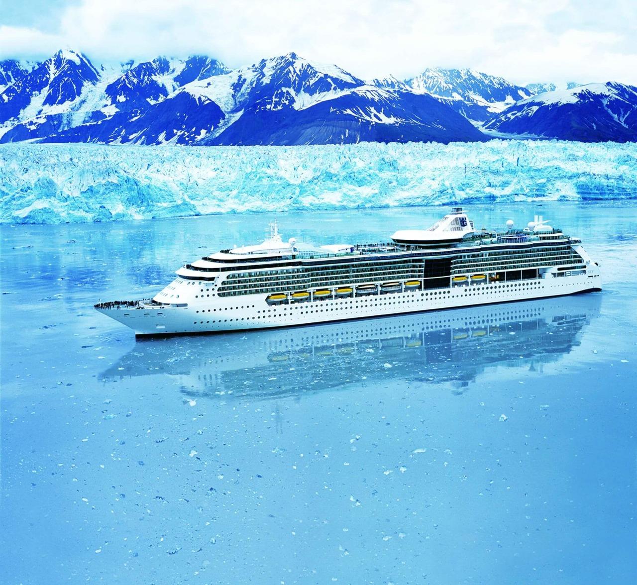 Круизный лайнер Radiance of the Seas - Внешний вид лайнера (Exterior)
