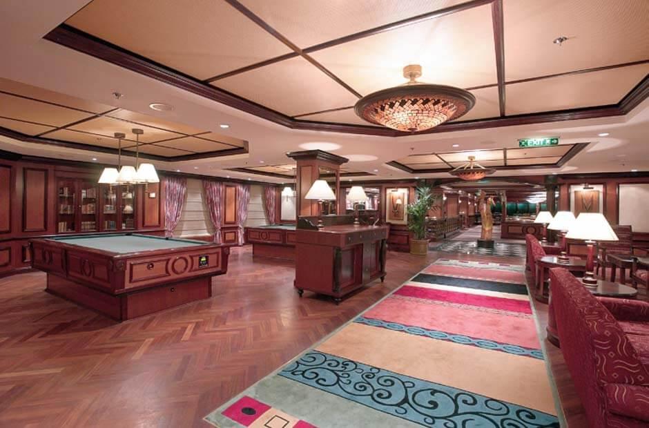 Круизный лайнер Radiance of the Seas - Игровой зал (Game Reserves)