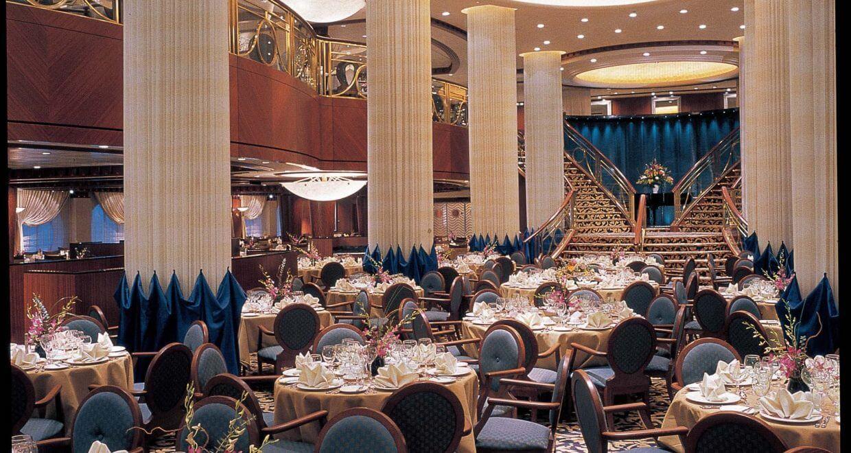 Круизный лайнер Radiance of the Seas - Основной ресторан (Dining Room)