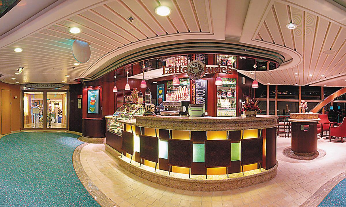 Круизный лайнер Radiance of the Seas - Кофейня (LatteTudes)