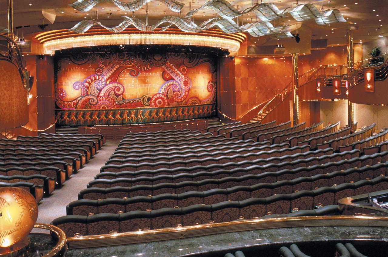 Круизный лайнер Rhapsody of the Seas - Театр (Theater)