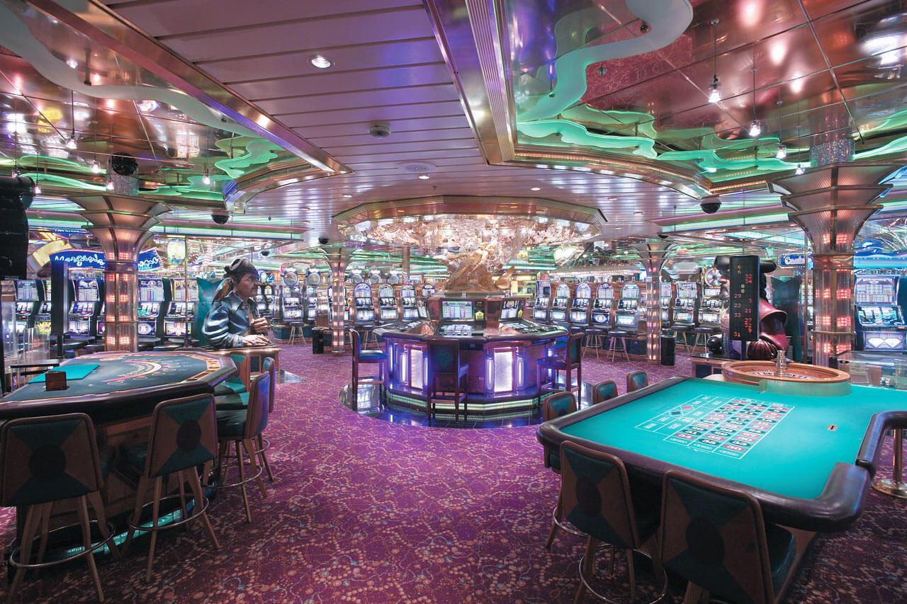 Круизный лайнер Rhapsody of the Seas - Казино (Casino)