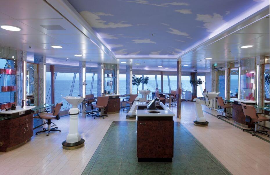 Круизный лайнер Rhapsody of the Seas - Спа-салон (Spa)