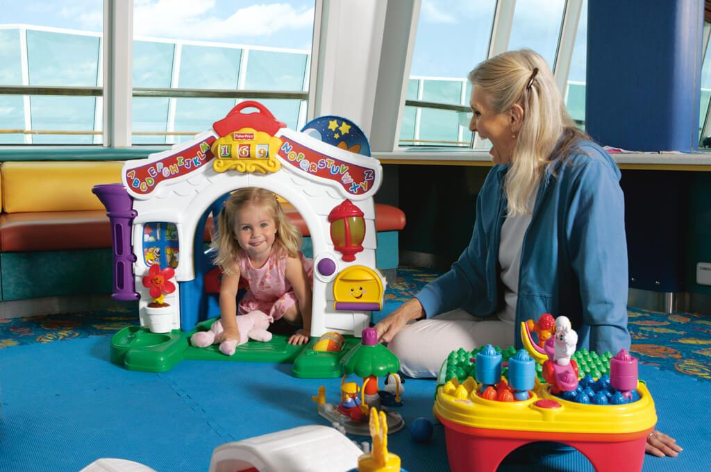 Круизный лайнер Rhapsody of the Seas - Детский клуб (Kids Club)