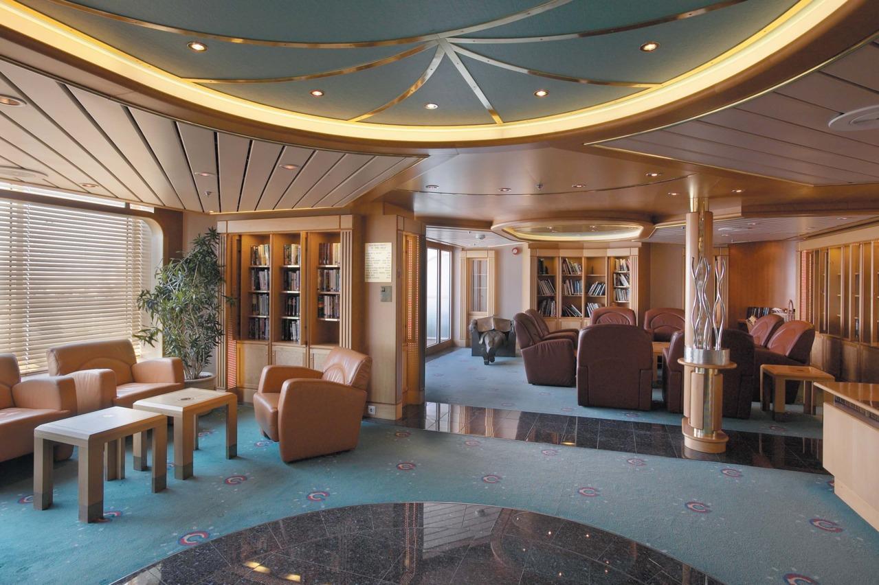 Круизный лайнер Rhapsody of the Seas - Библиотека (Library)