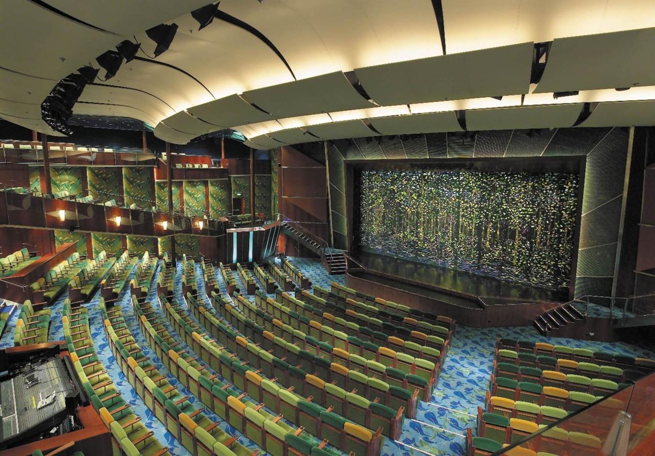 Круизный лайнер Serenade of the Seas - Театр (Tropical Theater)