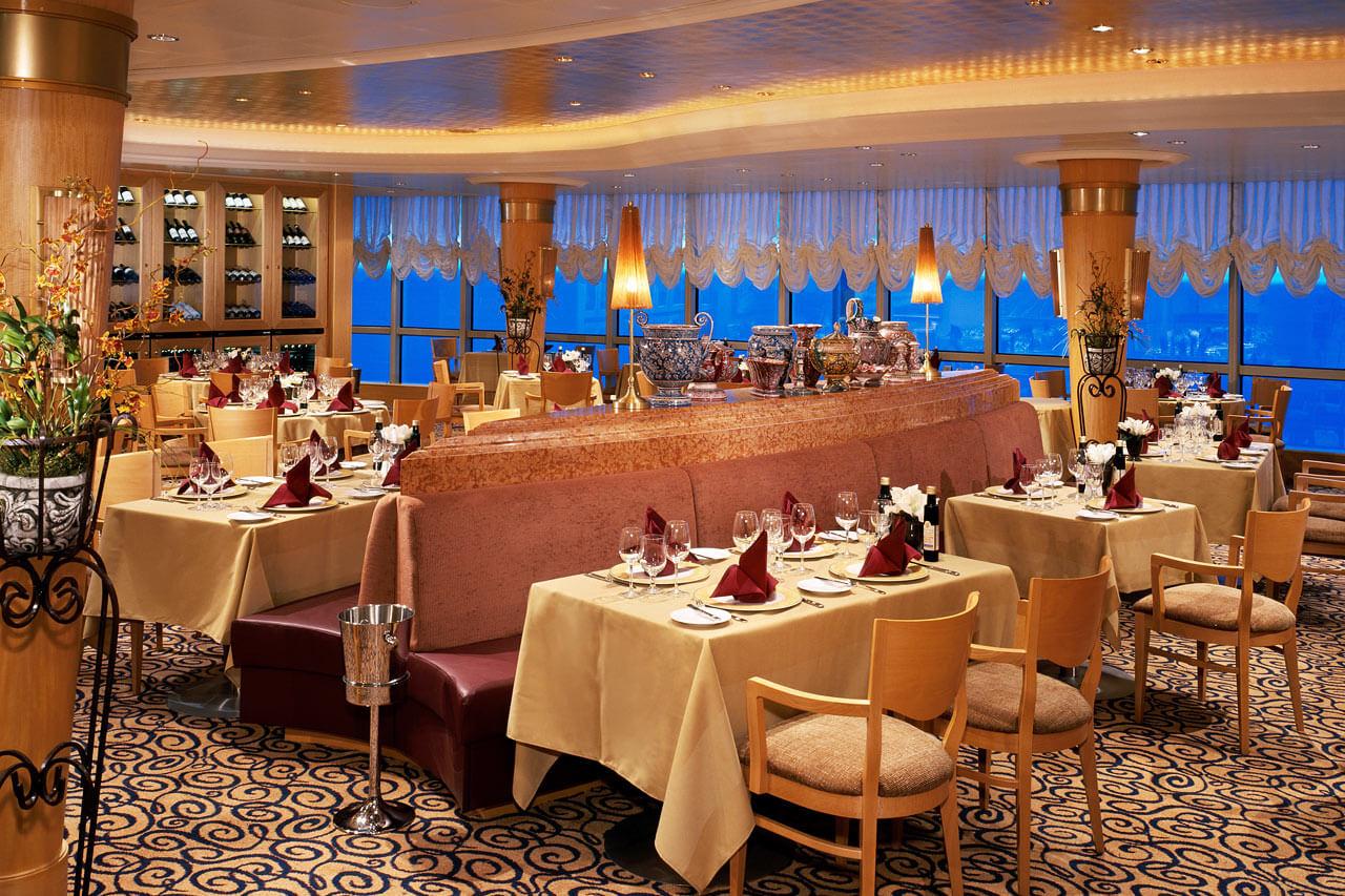 Круизный лайнер Serenade of the Seas - Ресторан итальянской кухни (Portofino)