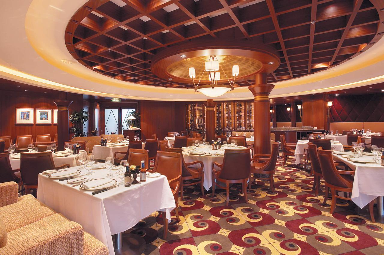 Круизный лайнер Serenade of the Seas - Стейк-хаус Chops Grille (Chops Grille)
