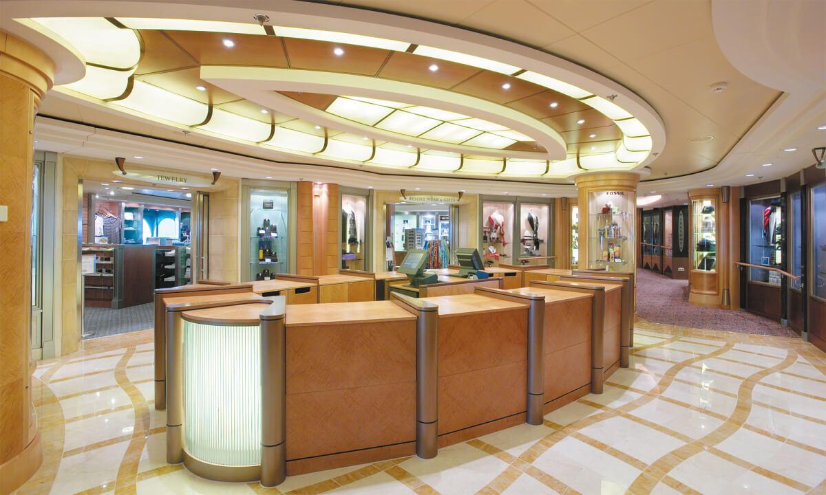 Круизный лайнер Serenade of the Seas - Галерея бутиков (Boutiques)