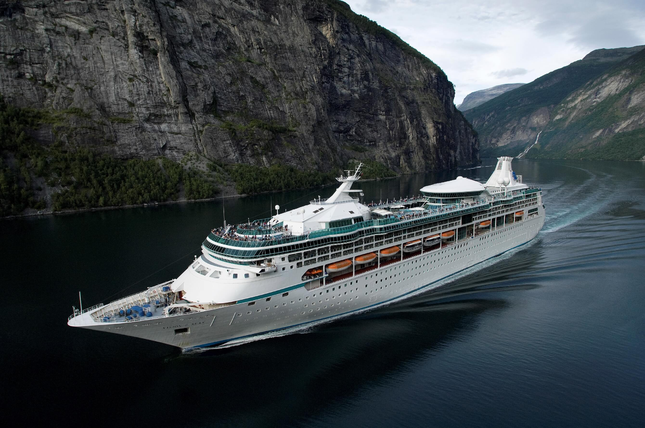 Круизный лайнер Vision of the Seas - Внешний вид лайнера (Exterior)