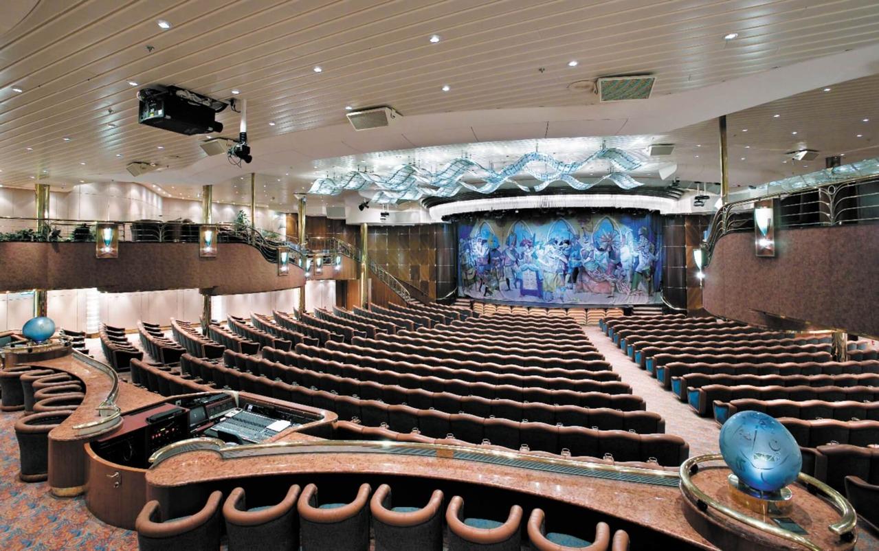 Круизный лайнер Vision of the Seas - Театр Маскарад (Masquerade Theater)