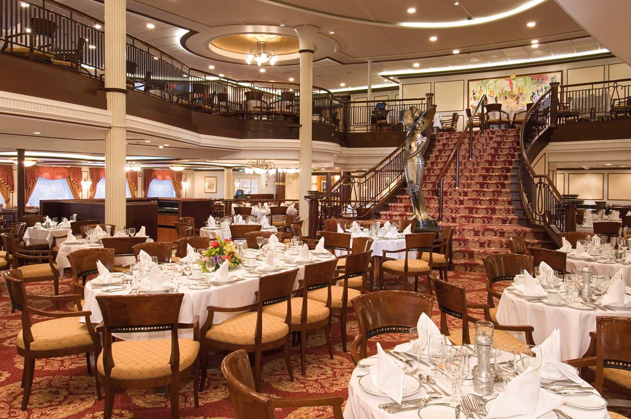 Круизный лайнер Vision of the Seas - Основной ресторан (Dining Room)