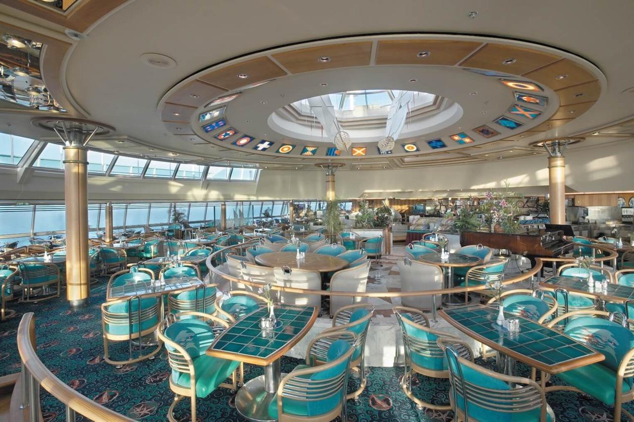 Круизный лайнер Vision of the Seas - Шведский стол (Windjammer Cafe)
