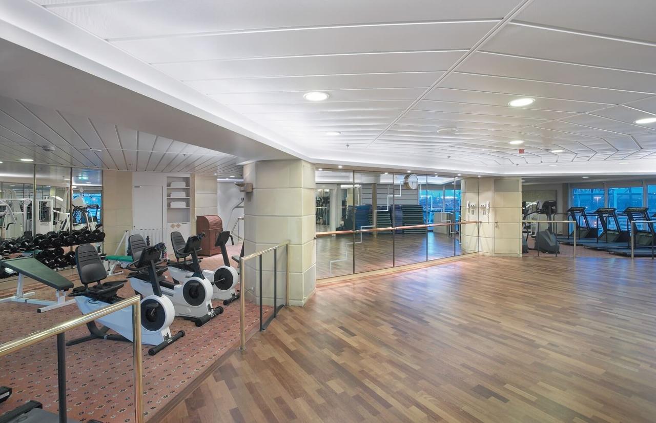 Круизный лайнер Vision of the Seas - Тренажерный зал (Fitness Center)