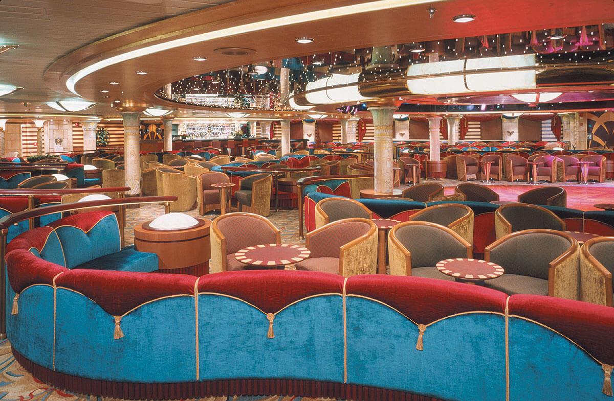 """Круизный лайнер Voyager of the Seas - Гостиная """"Клеопатра"""" (Cleopatra Lounge)"""