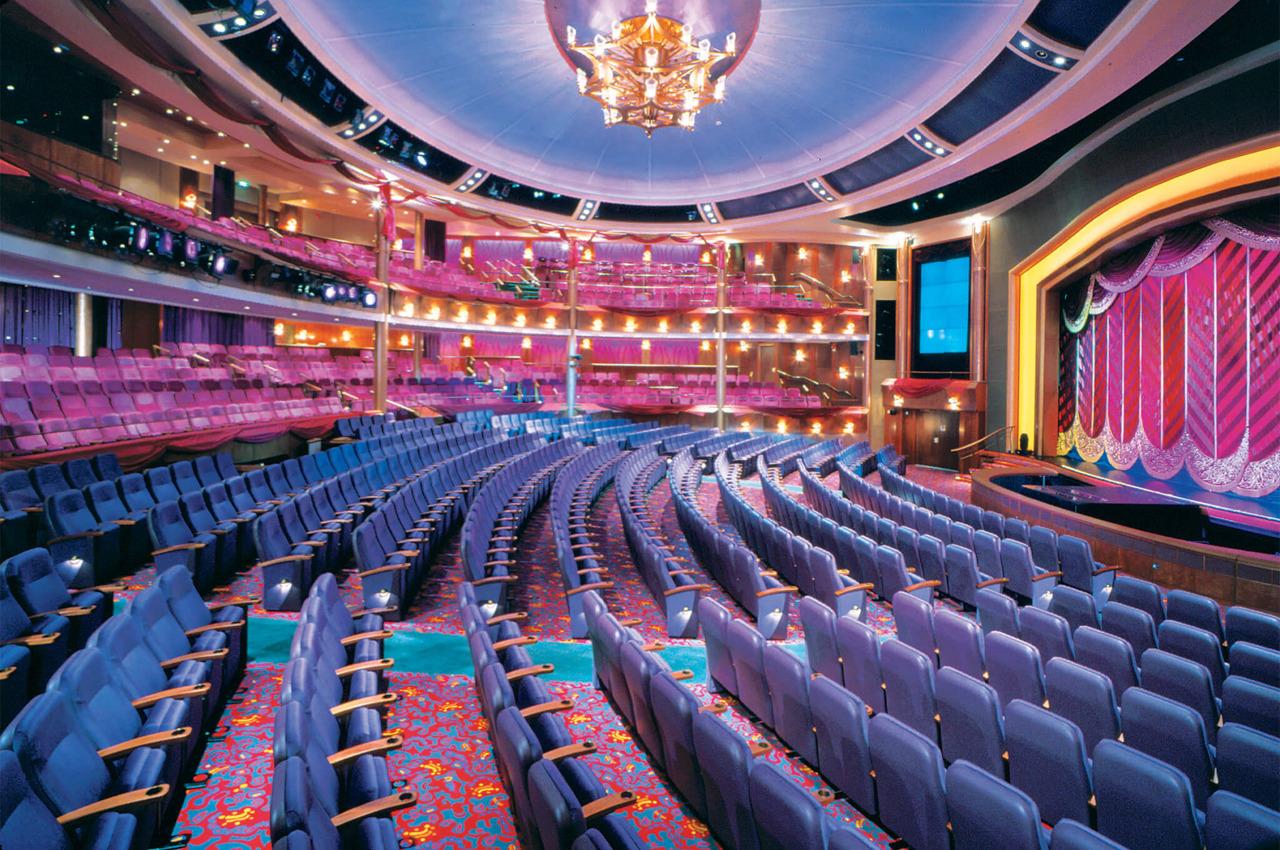 Круизный лайнер Voyager of the Seas - Театр (Theater)