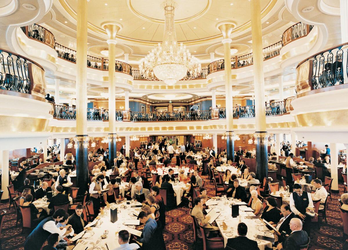 Круизный лайнер Voyager of the Seas - Основной ресторан (Dining Room)