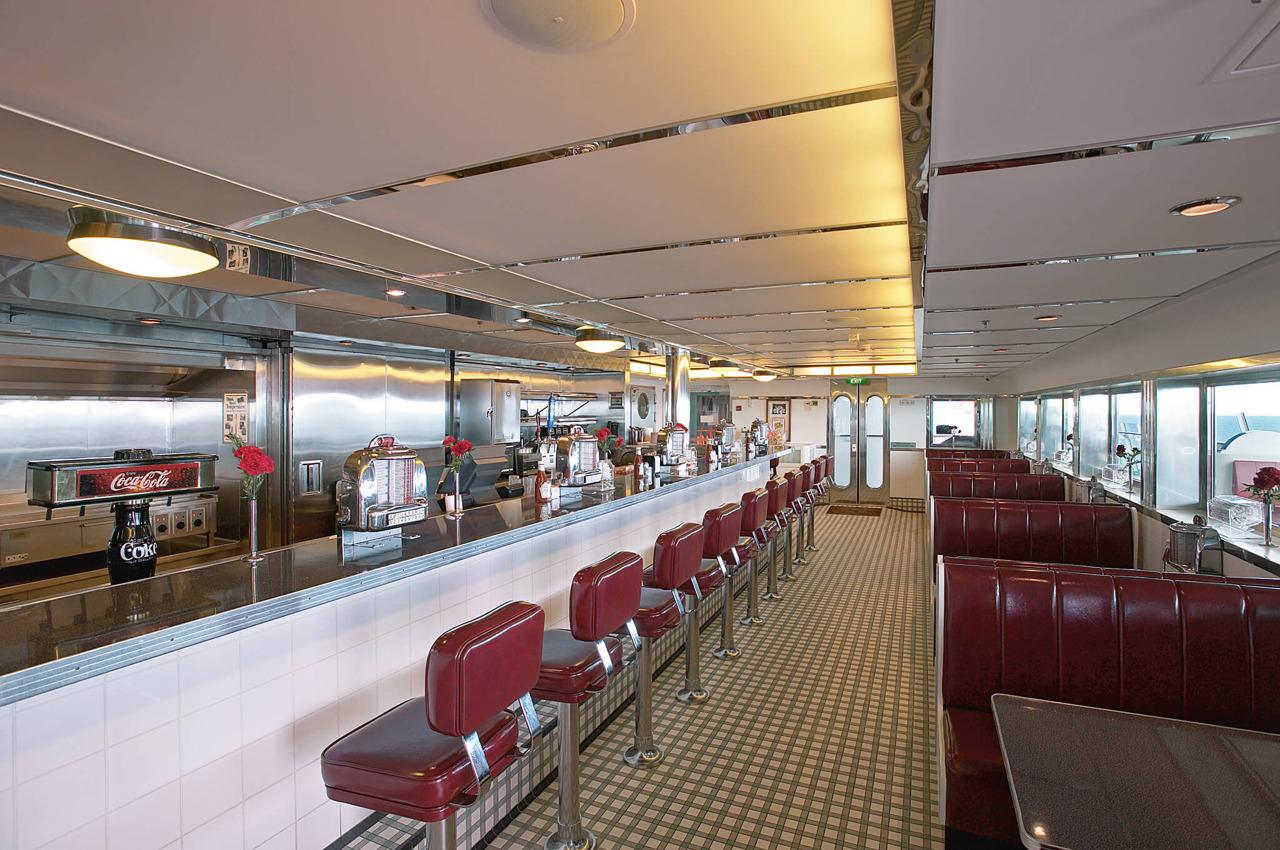 Круизный лайнер Voyager of the Seas - Ресторан Johnny Rockets (Johnny Rockets)