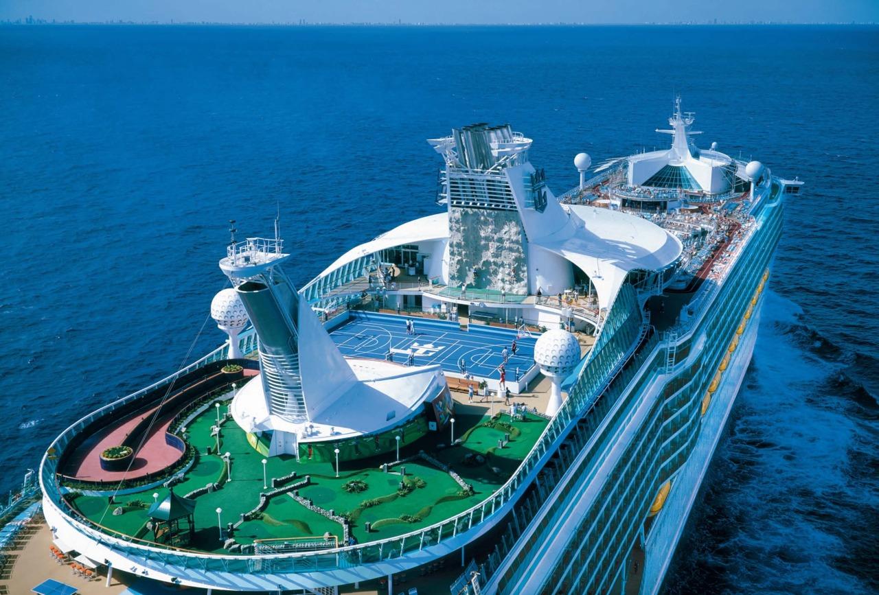 Круизный лайнер Voyager of the Seas - Спортивная палуба (Sports Deck)