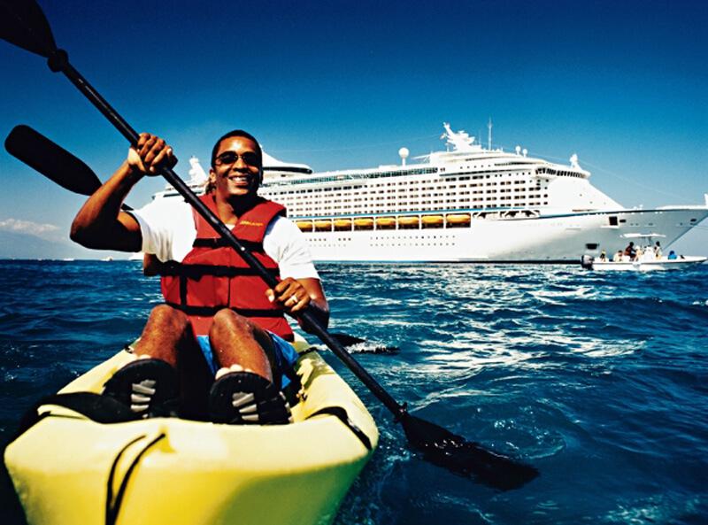 Круизный лайнер Voyager of the Seas - Прогулка на каяке (Kayak Couple)