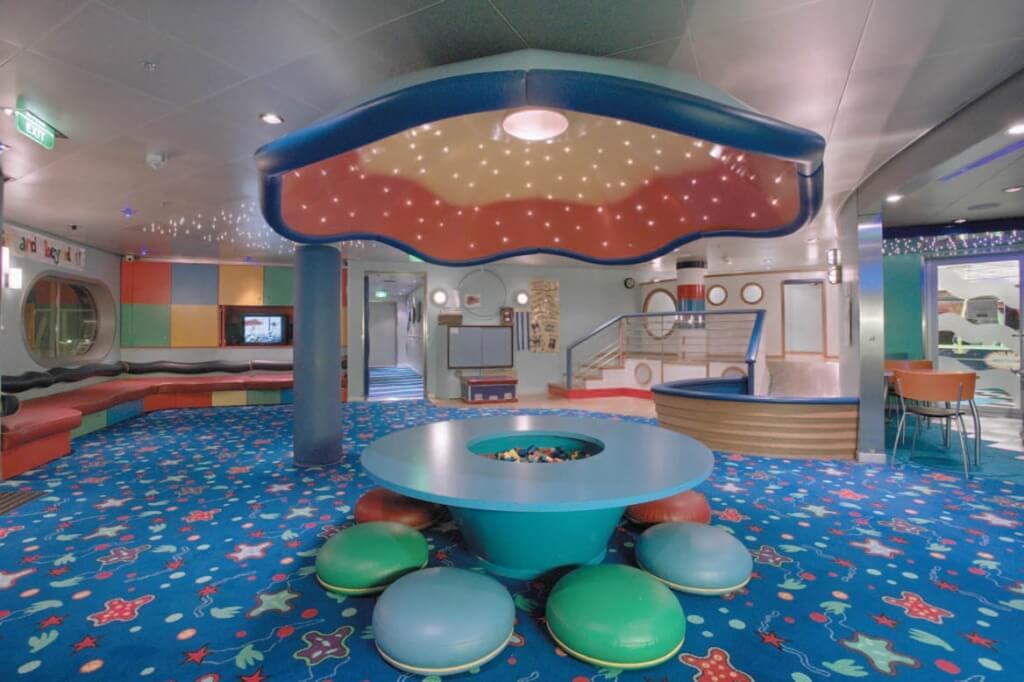 Круизный лайнер Voyager of the Seas - Детский клуб (Play Room)