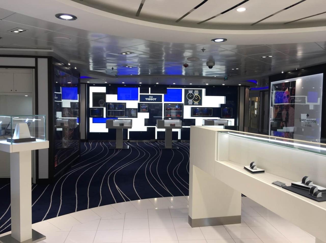 Круизный лайнер Celebrity Constellation - Shop