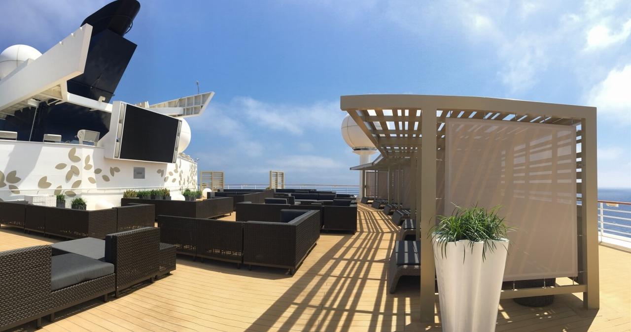Круизный лайнер Celebrity Constellation - Rooftop