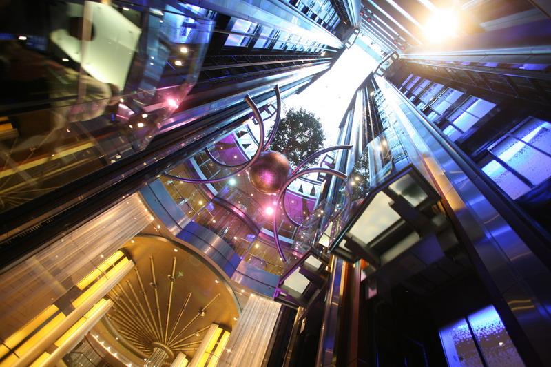 Круизный лайнер Celebrity Eclipse - Атриум (Atrium)