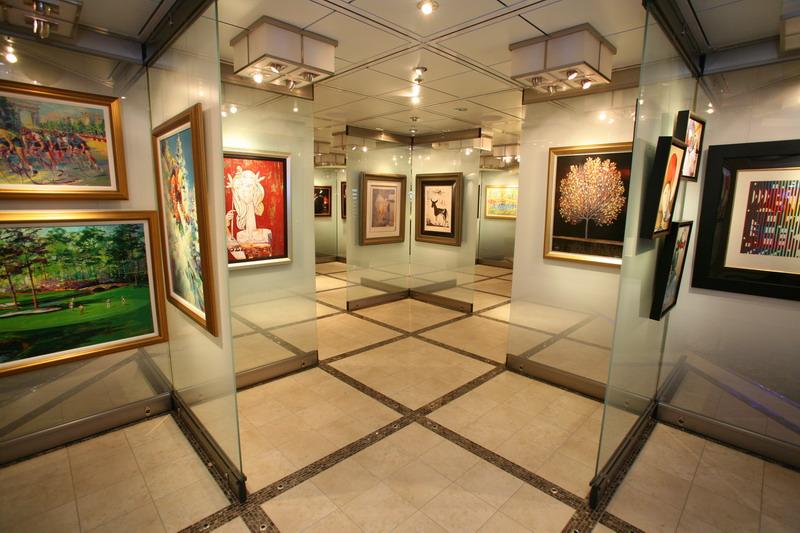 Круизный лайнер Celebrity Eclipse - Галерея (Art Gallery)