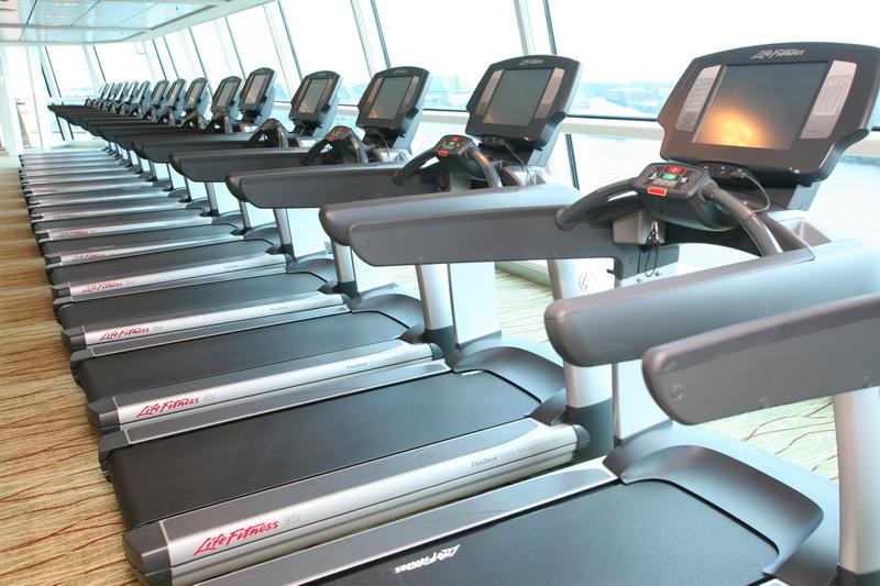 Круизный лайнер Celebrity Eclipse - Фитнес центр (Fitness Centre)