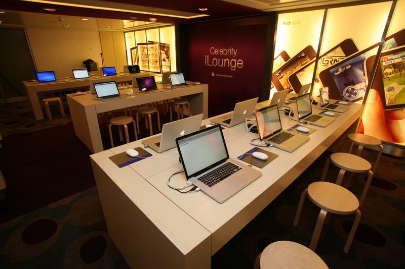 Круизный лайнер Celebrity Eclipse - Интернет кафе (Internet Cafe)