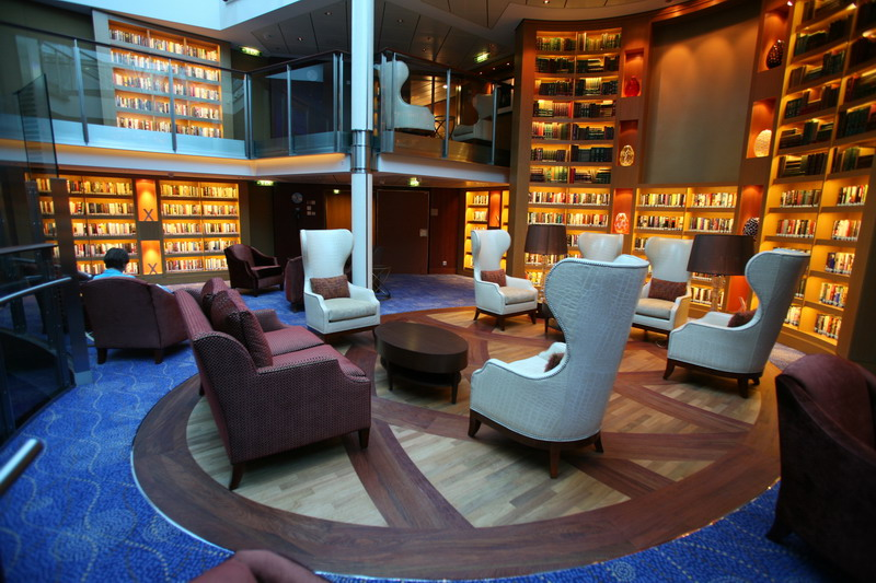 Круизный лайнер Celebrity Eclipse - Библиотека (Library)