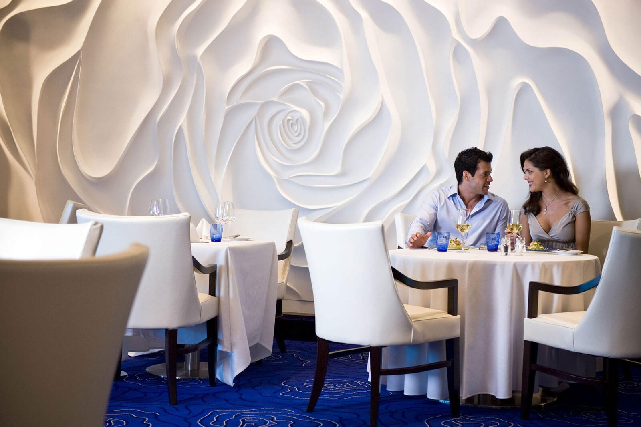 Круизный лайнер Celebrity Equinox - Ресторан Blu (Blu)