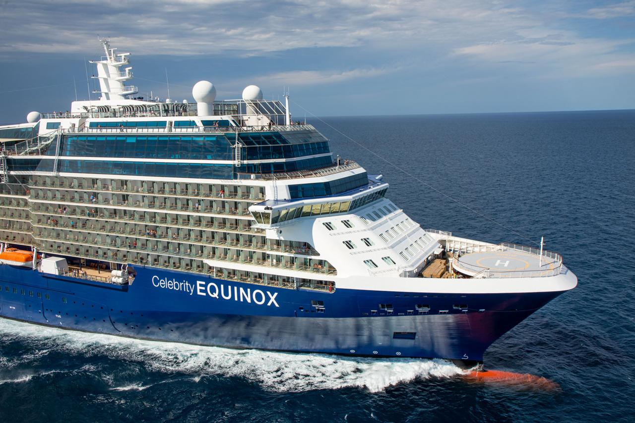Круизный лайнер Celebrity Equinox - EQ19-AerialsFL034