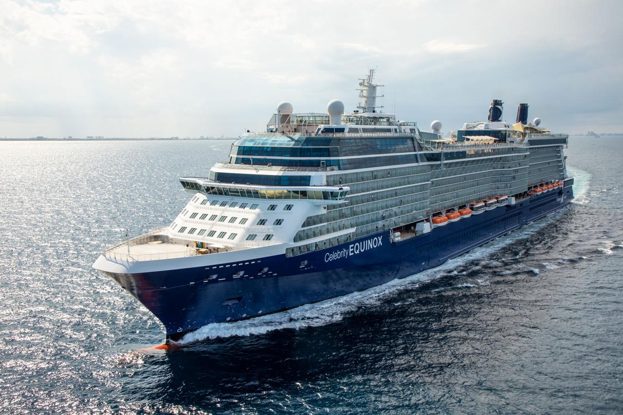 Круизный лайнер Celebrity Equinox - EQ19-AerialsFL047