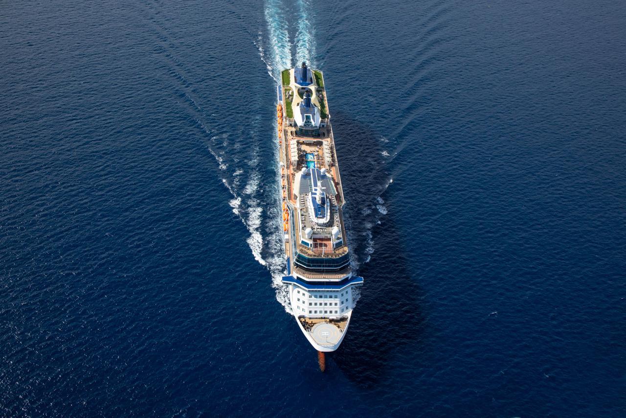 Круизный лайнер Celebrity Equinox - EQ19-AerialsFL287
