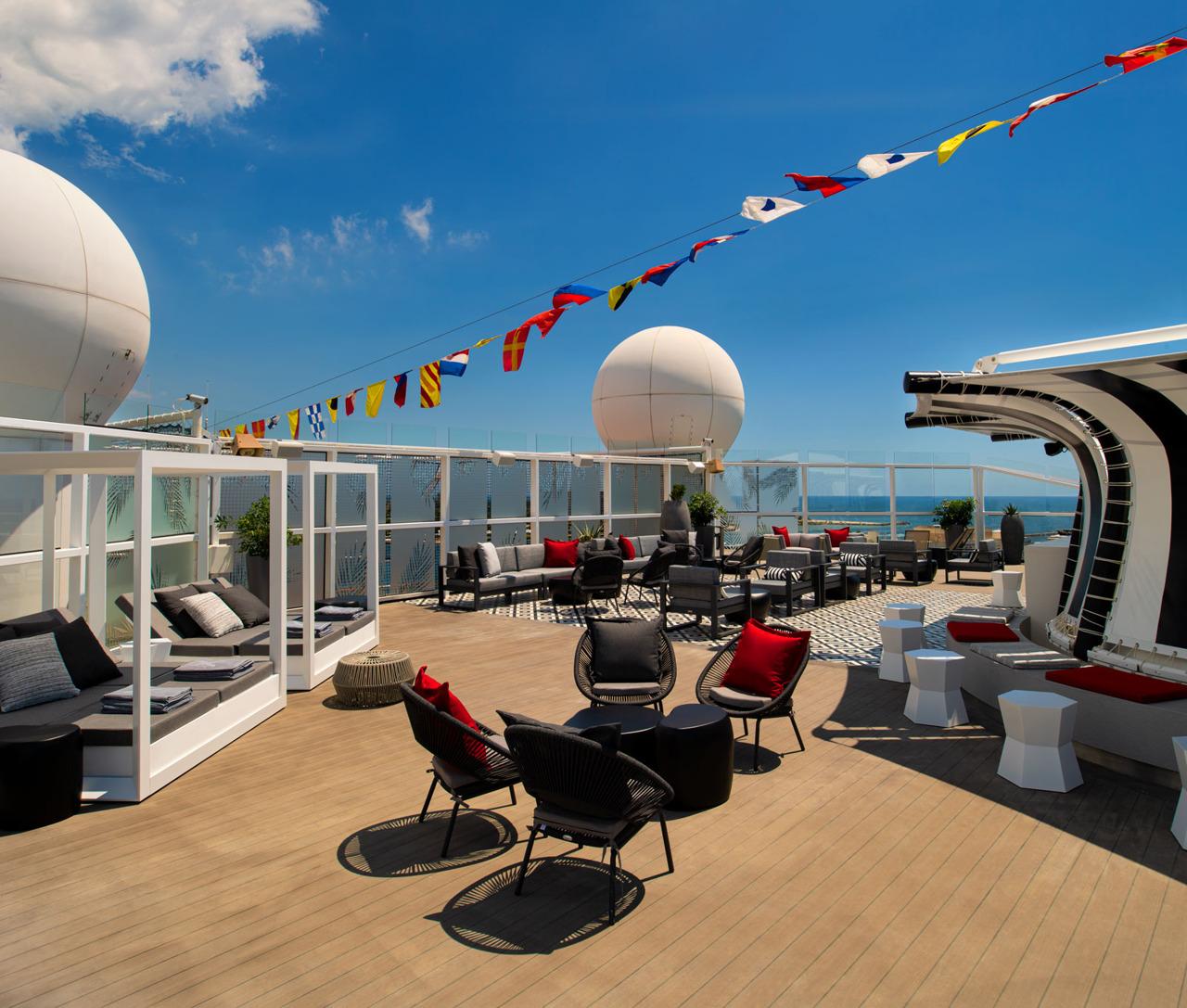 Круизный лайнер Celebrity Equinox - EQ19-RetreatSunDeck1R