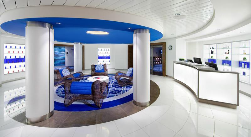 Круизный лайнер Celebrity Equinox - Аква спа (Aqua Spa)