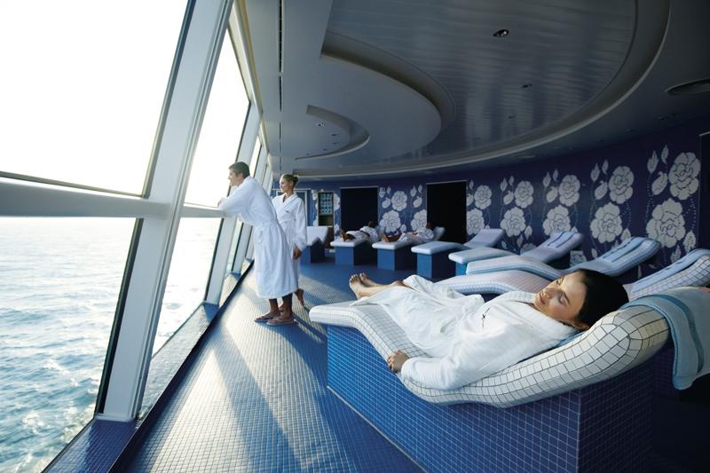 Круизный лайнер Celebrity Equinox - Spa-центр