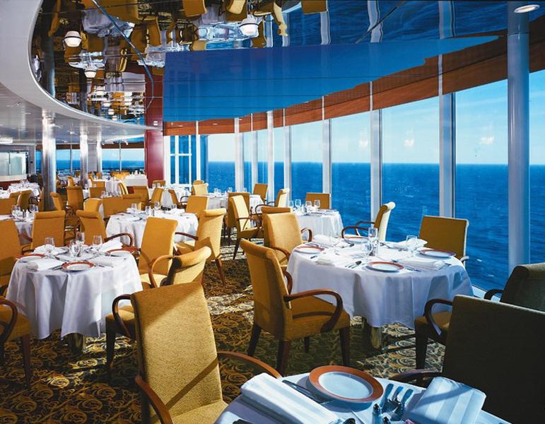 Круизный лайнер Celebrity Infinity - Ресторан Seaside Grill (Seaside Grill)