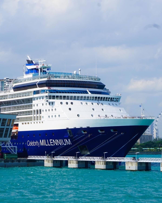 Круизный лайнер Celebrity Millennium - Ship Mill