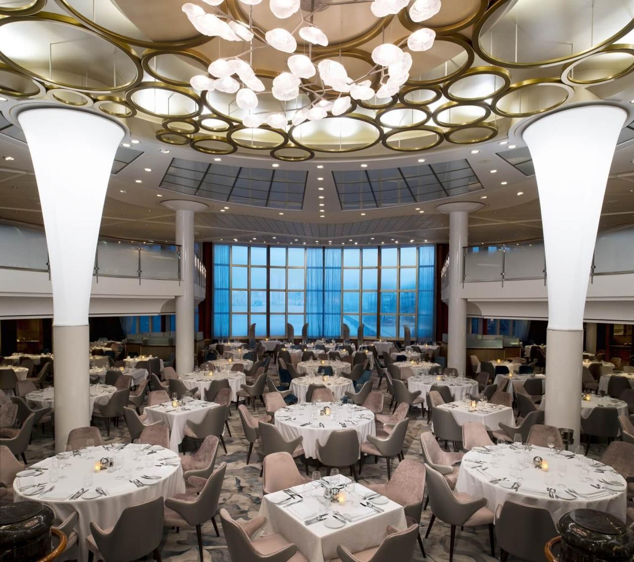 Круизный лайнер Celebrity Millennium - ML19-MetropolitanRestaurantR