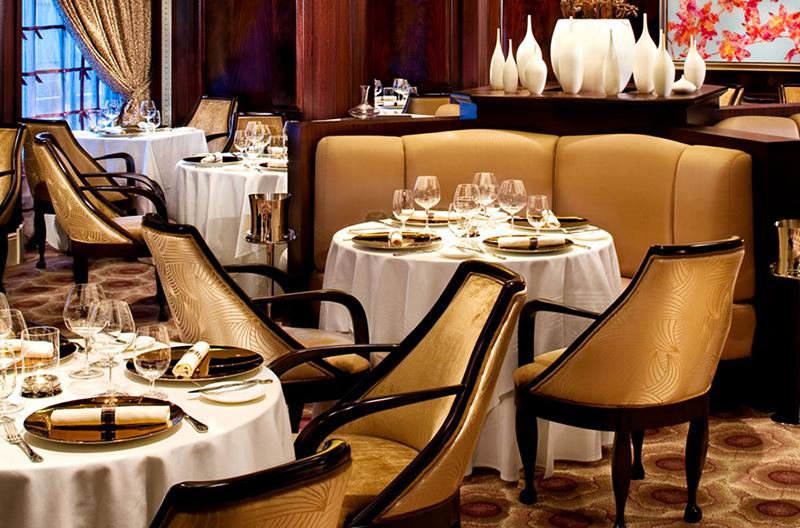 Круизный лайнер Celebrity Reflection - Ресторан французской кухни Murano