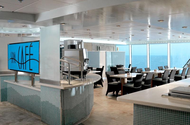 Круизный лайнер Celebrity Reflection - Кафе в Spa-зоне Spa Cafe