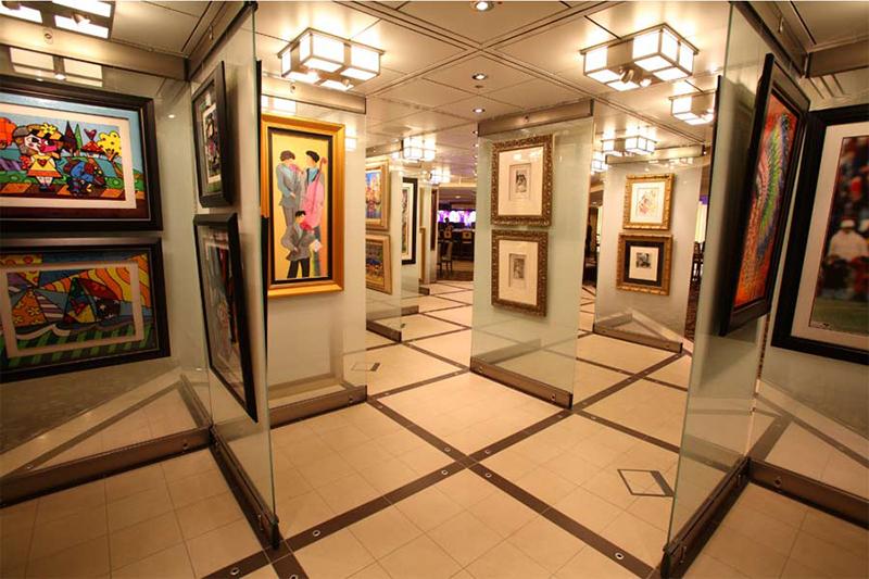 Круизный лайнер Celebrity Reflection - Художественная галерея
