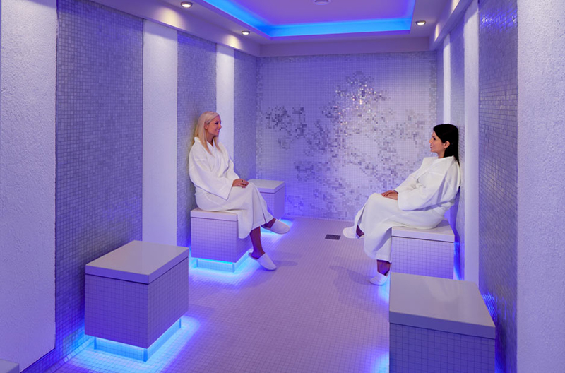 Круизный лайнер Celebrity Reflection - Холодная комната AquaSpa