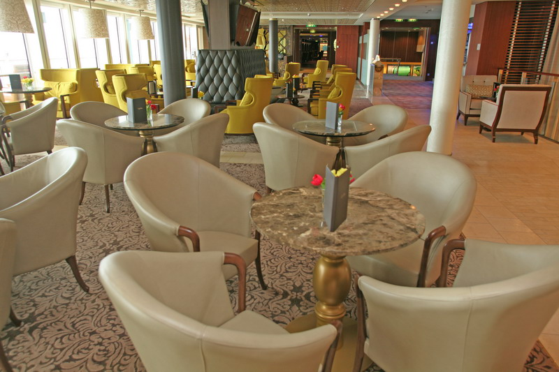Круизный лайнер Celebrity Silhouette - Кафе el Bacio (Cafe el Bacio)